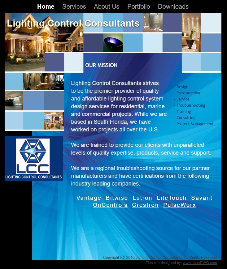 Lighting Control Consultants - Q Creative Consultancy